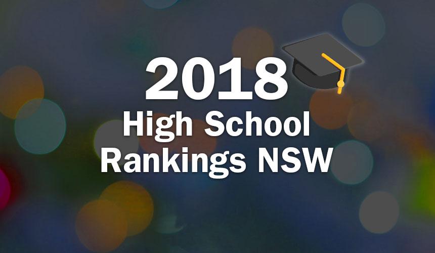 2018 High School Rankings NSW