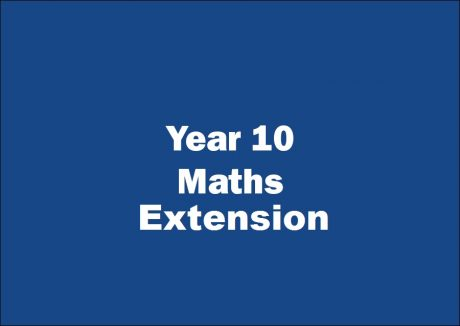 Prime Education Year 10 Maths Extension tutoring course